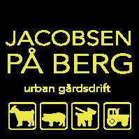 Jacobsen på Berg. Logo